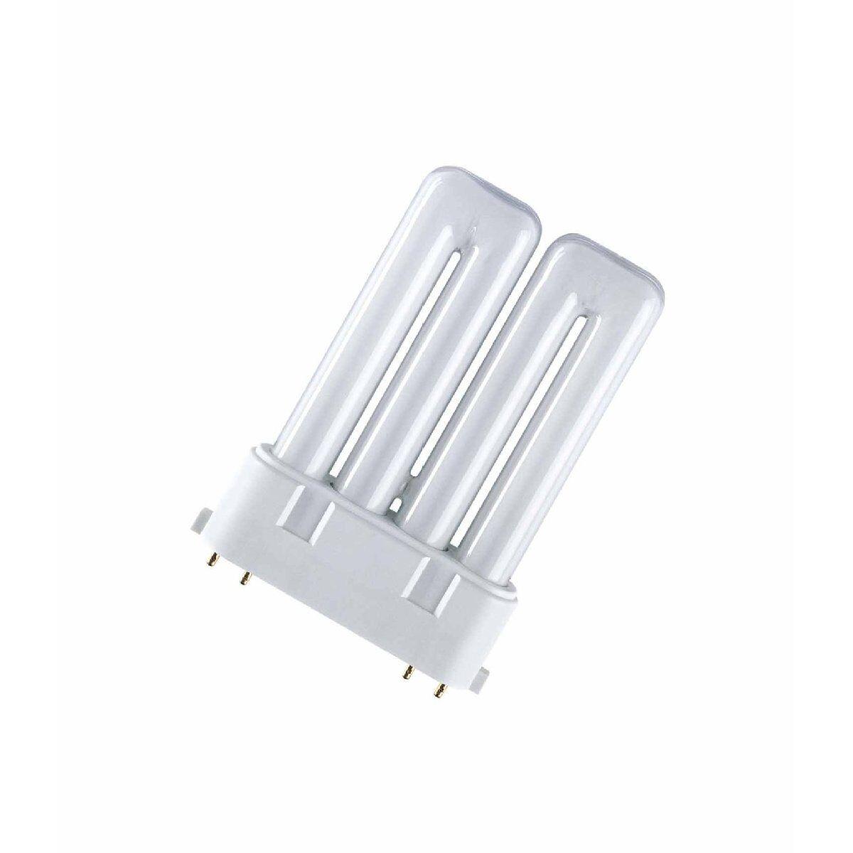Osram Lámpara Fluorescente Compacta Dulux F - 2G10,827 Internacional - 24W-10-pc