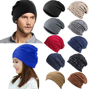 d0094614d Details about Men Women Stretch Knit Ski Crochet Slouch Hat Cap Baggy  Hip-Hop Dance Hat Beanie