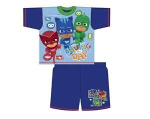 Boys Official Genuine PJ Masks Catboy Owlette Gekko Pyjamas Age 2 3 4 5 Years