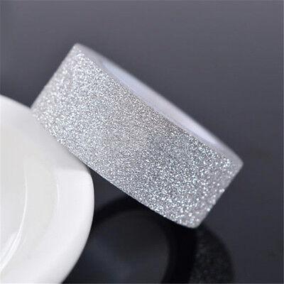 Nice 5m Craft Glitter Washi Tape Book Decoration DIY Adhesive Paper Sticker
