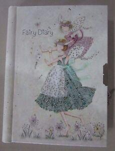 Children-Girls-Fairy-Lockable-Diary-Notebook-Journal-Hard-Cover-Birthday-Xmas