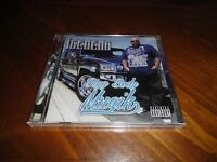 Chicano Rap Cd Iceberg - Bigg Body Muzik - 40 Glocc Big Nuke Zay Reed