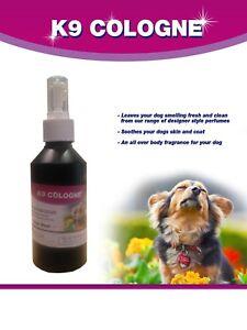 K9 Cologne - Après-rasage de chien frais et humain
