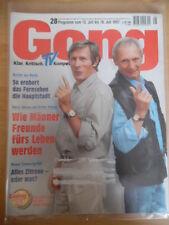 GONG 28 - 1997 Programm 12.- 18.7. Horst Jansen & Arthur Brauss TV in Berlin