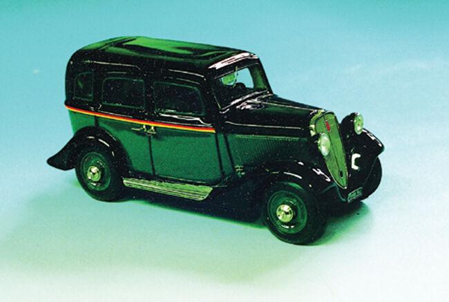 ABC 063t Fiat Balilla 4 Gear 1934 Taxi Milano-Taxi Rome