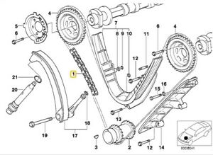 BMW M62 Engine E38 E39 E53 540i 740i X5 Timing Chain,Rails,Seals,Gaskets Kit | Bmw M62 Engine Diagram 1998 |  | eBay