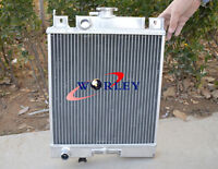 Aluminum Radiator For Suzuki Swift Gti 89-94 Mt 1.0l/1.3l/1.6l 89 90 91 92 93