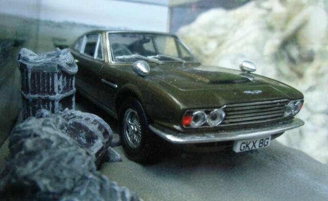 007 JAMES BOND Aston Martin DBS 1969 Majesty´s Secret Service 1:43 MODEL Lazenby