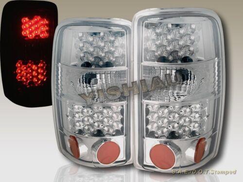 BUMPER 2000-2006 CHEVY SUBURBAN TAHOE CHROME HEADLIGHTS LED TAIL LIGHTS