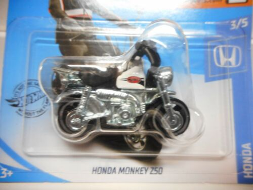HONDA Z50 MONKEY BLACK,RED,WHITE HOT WHEELS 1:64 Z SERIES BIKE