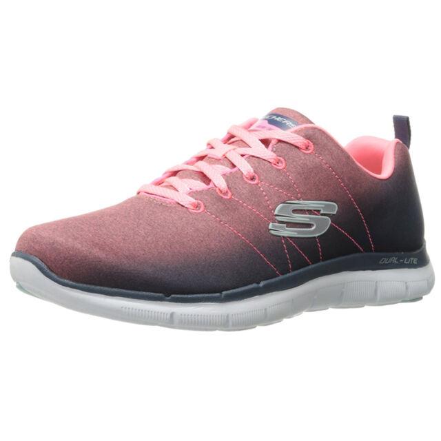 llega Últimas tendencias vende Skechers Sk12763 Flex Appeal 2.0 Bright Side Black Pink Ladies ...