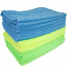 Zwipes Microfiber Cleaning Cloths, 36-Pack, Anti-Scratch Rag Towel Car Detailing