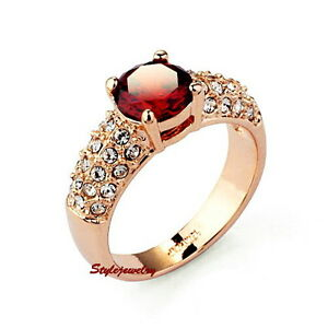 Rose-Gold-Plated-Red-Ruby-Women-Engagement-Ring-Made-With-Swarovski-Crystal-R75