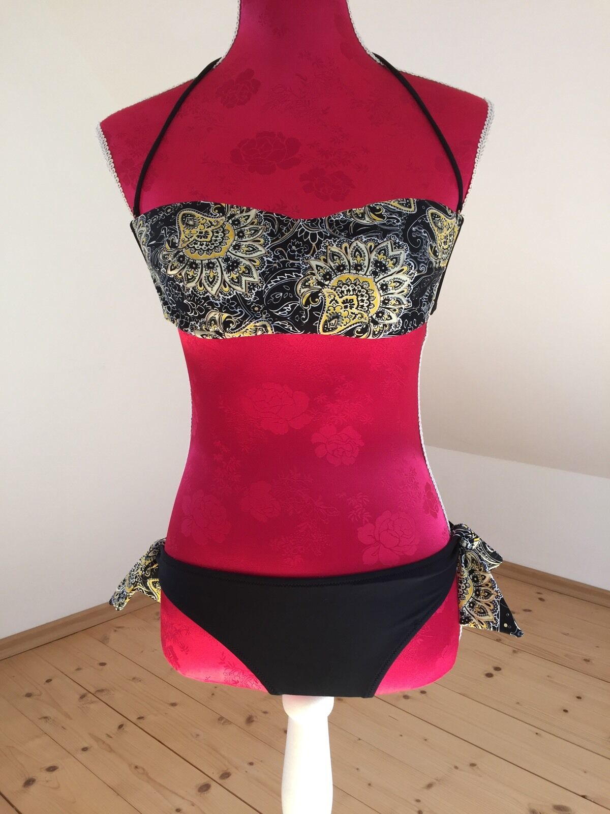 Bikini Bikini Bikini Gr. 38 schwarz gelb minneola | Bekannt für seine hervorragende Qualität  | Verschiedene Waren  | Qualität  | Große Auswahl  | Qualifizierte Herstellung  b9ee75