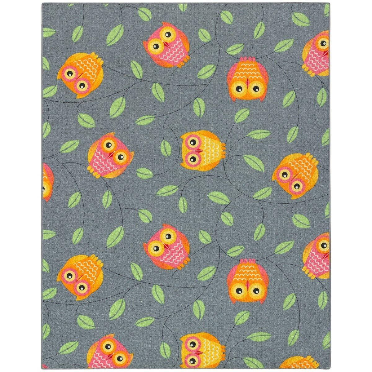 Eulen Kinderteppich Kauz Teppich Teppich Teppich HAPPY OWLS Spielteppich nicht nur für Kinder (1 | Elegantes und robustes Menü  f8490c