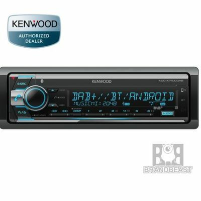 Kenwood Kdc-x7100dab Usb Cd Dual Bluetooth Car Stereo Android Iphone Digital Dab