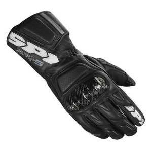 Spidi-STR-5-Black-Moto-Motorbike-Motorcycle-Leather-Sports-Gloves-All-Sizes