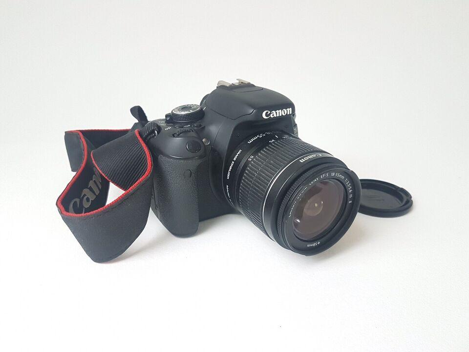 Canon, EOS 600D, spejlrefleks