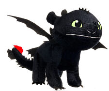 "BRAND NEW 12"" HOW TO TRAIN YOUR DRAGON TOOTHLESS PLUSH SOFT TOY"