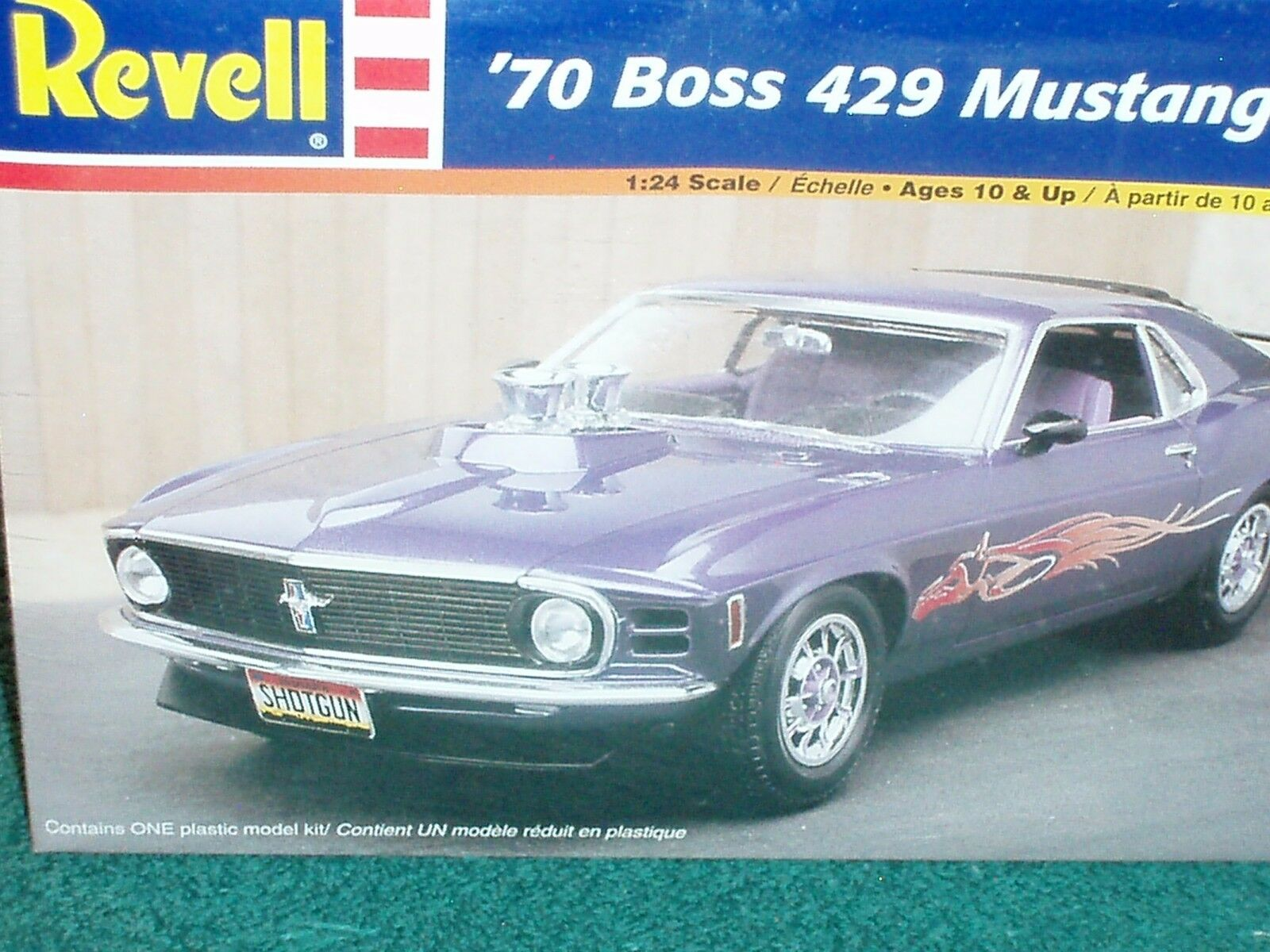 REVELL 1970 FORD MUSTANG BOSS 429 2 in 1 PLASTIC MODEL KIT 1 25 SKILL LEVEL 2