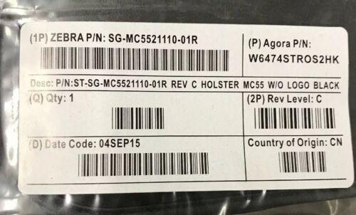 NEW ZEBRA MCD-A1 SG-MC5521110-01R SOFT CASE FABRIC HOLSTER MC55