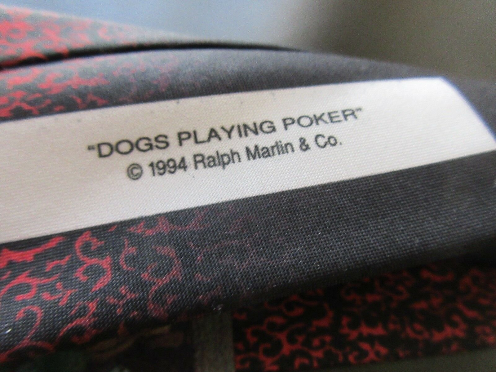"""Dogs Playing Poker"" , 1994 , Ralph Marlin & Company ,"