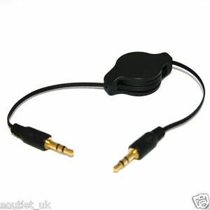 Gold-3-5mm-Retractable-Aux-Line-in-Jack-Audio-Car-Cable-Lead-for-iPhone-iPod-MP3