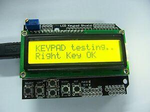 Yellow-Backlight-1602-LCD-Board-Keypad-Shield-For-Arduino-LCD-Duemilanove-Robot