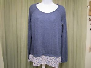 Mossimo-Women-039-s-Casual-Work-Office-School-Blouse-Top-Shirt-Size-M