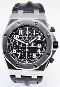 Audemars-Piguet-Royal-Oak-Offshore-Steel-Chronograph-Automatic-Watch-26170ST