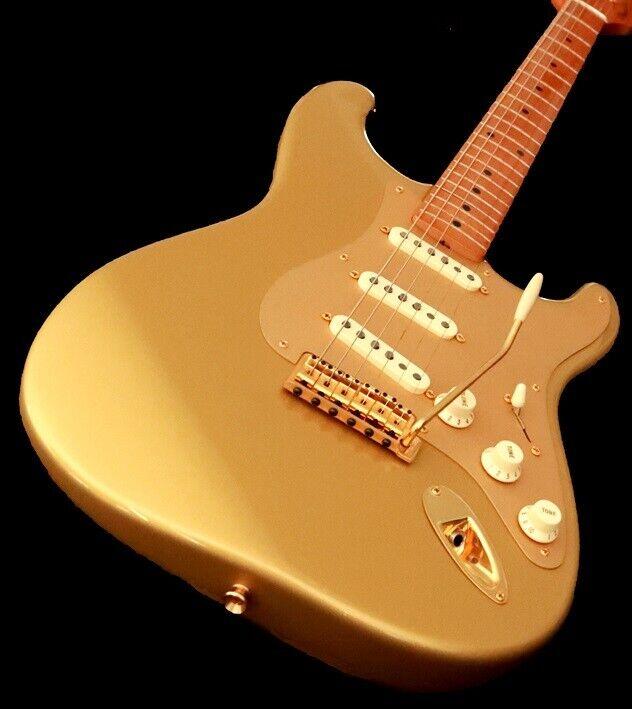 Elguitar, Fender 50th Anniversary Golden Stratocaster
