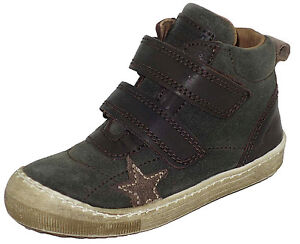 40325 Gr27 Leder Boots Kinder Schuhe Bisgaard Jungen Halbschuh WEDI9H2