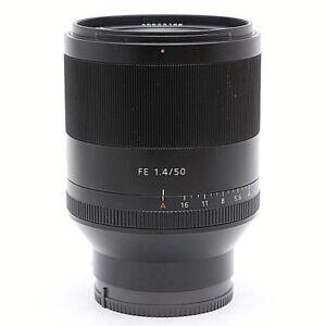 9748b378fd6d7 NEW SONY Planar T  FE 50mm F1.4 ZA Lens for Full Frame E Mount ...
