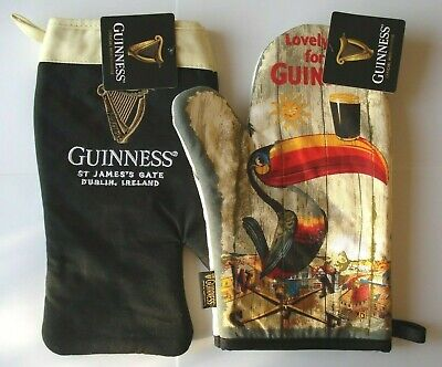 Genuine Licensed Guinness Oven Glove Toucan