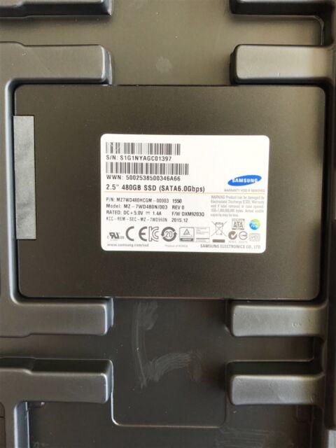 "*New* Samsung SM843TN (MZ7WD480HCGM-00003) 480GB, 2.5"" SATA Enterprise SSD"