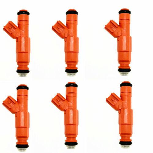 6 x Fuel Injectors 0280155917 Fits Dodge Mitsubishi Jeep Liberty 3.6 V6 20lbs