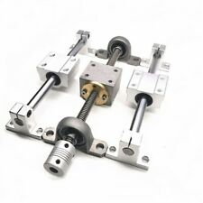T8 Lead Screw Rod Linear Rail Optical Axis Vertical Bearing Set Lead 2mm 4mm 8mm