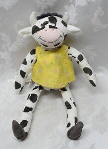 Spotted Black Cow Ikea Fabler Ko Farm 15 Soft Plush Stuffed Toy