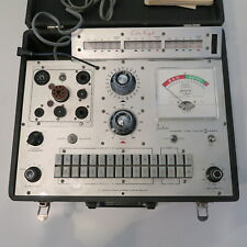 Jackson Tube Tester Model 648r 10 Pin Adapter Rare Works When Plugged In