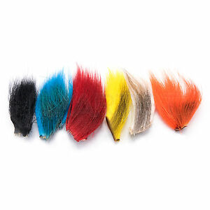 Fly Tying lot 12  LARGE 1st QUALITY NORTHERN BUCKTAIL from HARELINE Angelsport-Köder, -Futtermittel & -Fliegen Angelsport-Fliegen-Bindematerialien