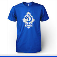 Dinamo Moskva Moscow Russia Football Soccer T Shirt Uefa Europe