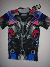 NWT Under Armour Transformers Mens Large HeatGear Compression Alter Ego T-shirt