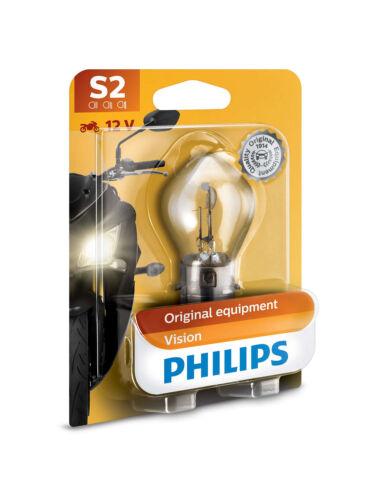 Una lampadina Lampada ricambio originale Alogena Philips S2 12V 35//35W BA20d BW