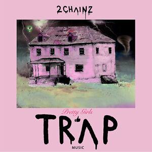 "2 Chainz Pretty Girls Like Trap Music Poster 32x32/"" 24x24/"" 18x18/"" 2017 Silk"