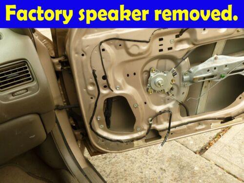 "1993-1997 Geo Priz 1991-1997 Toyota Corolla 5.25/"" 5.25/"" Front Speaker SAK090/_475"