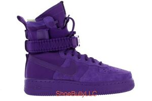 d56f705cf97105 NIKE SF AIR FORCE 1 864024 500 COURT PURPLE COURT PURPLE DEADSTOCK ...