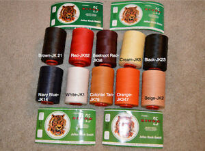 US Seller Julius Koch 0.8mm Ritza 25 Tiger Thread for Leather Sewing 25m/82.02ft