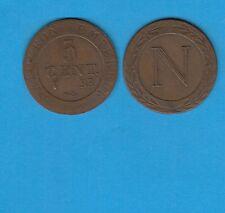 Gertbrolen Premier Empire Napoléon 5 Centimes  1808 Strasbourg