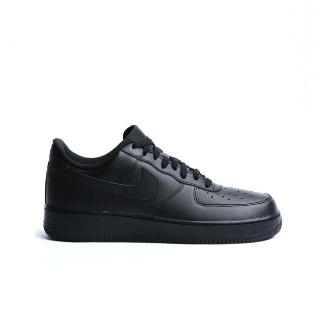 timeless design d5c41 555ca Nike Mens Air Force 1 Low 07 Basketball Shoes Black black All Sizes 8.5