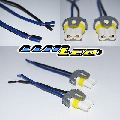 2 x 9005/9006 Wire Harness Fog light Bulb Socket Connector Xenon Ceramic New